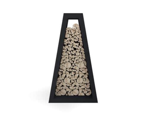 Premium Wood Storage Braséro plancha
