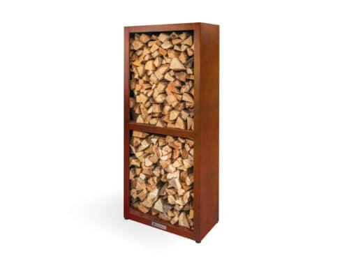 Quan Wood Storage Braséro plancha